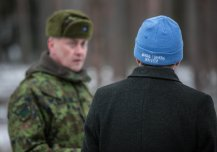 Minister of Defence visiting the 2nd Infantry Brigade