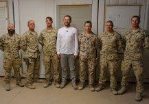 Kaitseminister Margus Tsahkna külastab Eesti kaitseväelasi Iraagis