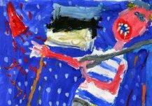 Mina olen tulevikus Eesti sõdur ja kaitsen Eesti inimesi kõikide kurjade inimeste eest. Kui on paraad, siis ma lähen ka marssima. Pildil marsin ma Eesti vabariigi 100. sünnipäeval vabaduse väljakul. Autor: Fredi Härmson 8a, Emmaste põhikool