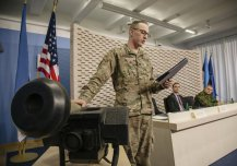 In November 18th Minister of Defence Sven Mikser signed a treaty to procure anti-tank missile system Javelin from the United States. Estonia will purchase 80 Javelin systems and ammunition for less than 40 Million Euro. The Javelin is introduced by Sgt. Brett Rumping, US Army.