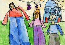 Minu tuleviku Eestis on peredes rohkem lapsi, nad elavad ilusates majades, kus on läbipaistev katus, millest paistab sisse rohkem valgust ja soojust.  Autor: Karoliina Hermann 5a, Vormsi lasteaed-põhikool