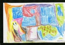 See on minu tuleviku lasteaed, mis on väga värviline. Punases toas ma magan. Suurte akendega toas ma mängin. Siin on väga ilusad ja suured nukud, millega mulle meeldib mängida. Minu tuleviku Eesti lasteaias kasvavad õues maasikad. Autor: Laura Aru 5a, Tallinna Lille lasteaed