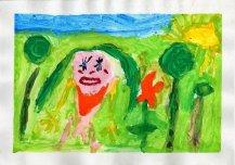 Minu emme rohelises looduses. Autor: Lenna Mägi 5a, Torma lasteaed Linnutaja