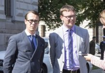 12th August: Defence Minister Sven Mikser met his Finnish colleague Carl Haglund in Helsinki to discuss the recent events in the Ukraine and regional security.