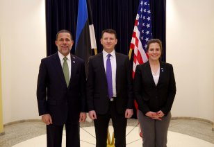 Permanent Secretary Vseviov met with Elise Stefaniku and Anthony Brown, members of the United States House of Representatives.