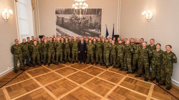 Kaitseminister andis üle missioonimedalid