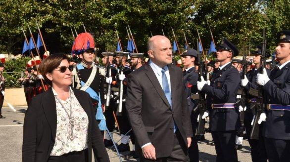 Kaitseminister Luik kohtus Itaalia kolleegiga