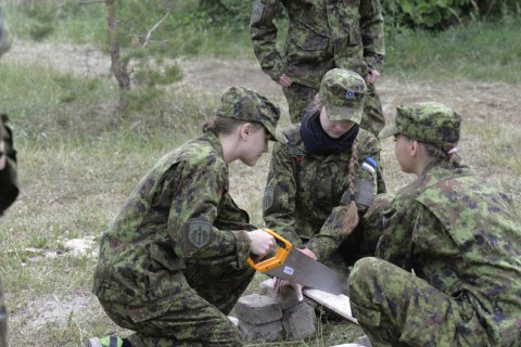Hakk puts young people interested in national defence to the test