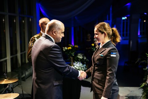 Minister of Defence thanked outstanding contributors to national defence