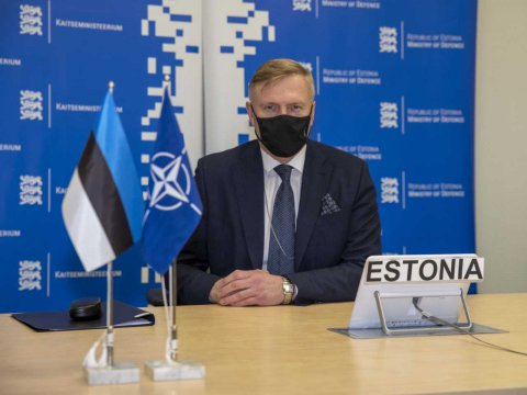 Minister of Defence Kalle Laanet participated in a two-day meeting of NATO Defence Ministers.