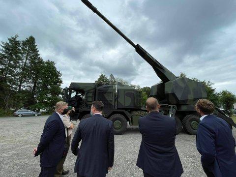 Kaitsetööstusettevõtte Rheinmetall külastus.