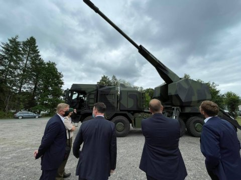 Estonian and German defence industry companies are developing world-class technologies