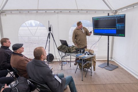 Industry demonstrates electronic warfare in live combat environment