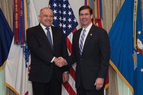 Jüri Luik met with United States Secretary of Defence Mark Esper