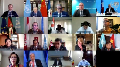 Kaitseminister osales ÜRO julgeolekunõukogu arutelul Mali teemal.