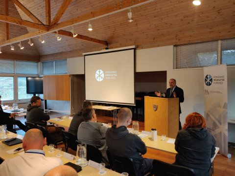 Minister of Defence Luik concluded the 42nd Higher National Defence Courses