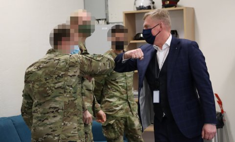 Minister of Defence Laanet: U.S. Special Forces Command Element strengthens security of entire Baltic region