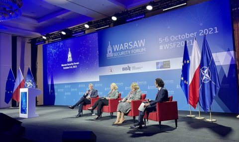 Laanet at the Warsaw Security Forum: the credibility of deterrence is ensured by real defence capabilities