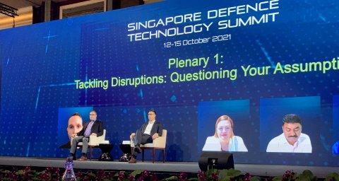 Singapuri kaitsetehnoloogia konverents (Singapore Defence Technology Summit)