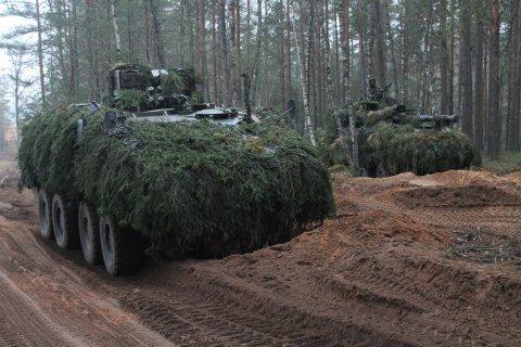 Eestisse tuleb Belgia soomusmanööverüksus