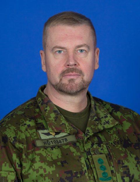 Kaitseliidu uus ülem kolonel Riho Ühtegi