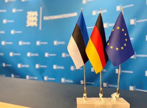 Eesti ja Saksa kaitseministrid arutasid kahepoolseid kaitsealaseid suhteid.