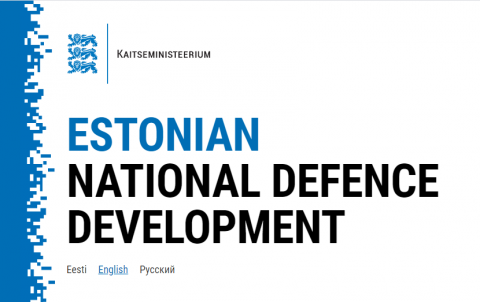 Website introducing Estonia's defence development launched.