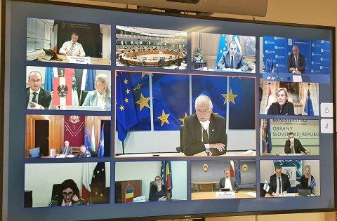 EL-i kaitseministrite videokohtumine.