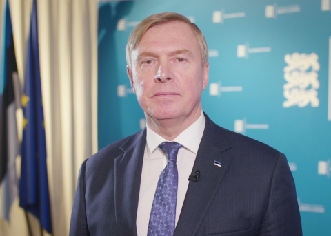 Minister of Defence Kalle Laanet