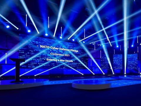 Estonia hosts NATO Cyber Defence Pledge conference.