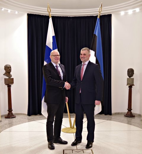 Estonia and Finland intensifying defence cooperation in the fields of capability development and procurements