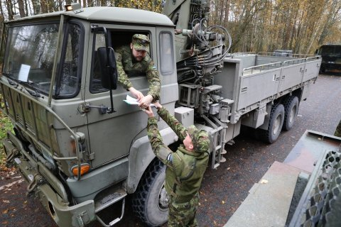 Estonian Defence Forces´ readiness training exercise