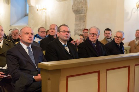 Defence Ministers of Estonia and Finland commemorate the fallen of War of Independence
