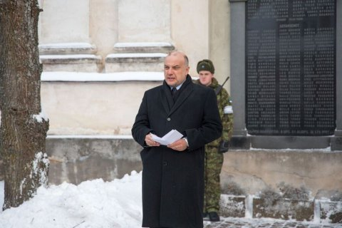 Kaitseminister Luik mälestas Soome ametivennaga Paju lahingus langenuid