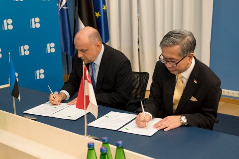 Estonia and Singapore concluded a cyber cooperation agreement
