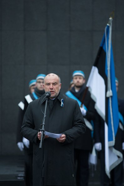 Those who fell during the War of Independence were remembered in Tallinn
