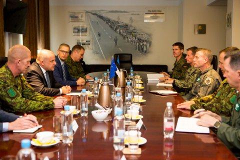 Kaitseminister Luik ja NATO Euroopa liitlasvägede ülemjuhataja kindral Wolters arutasid NATO kaitsevalmiduse tugevdamist