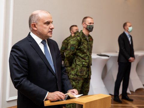 Minister of Defence Luik noted that Estonian men and women have served and continue to serve in areas with a very complicated security situation, and have been successful in their endeavours.