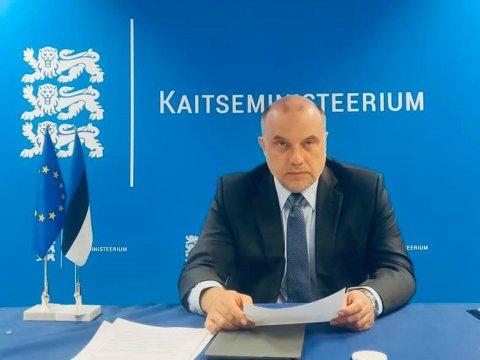 """Kaitseminister Luik EL kaitseministrite kohtumisel: """"Euroopa Liit andis jõulise tõuke Euroopa kaitsetööstuse arenguks"""""""