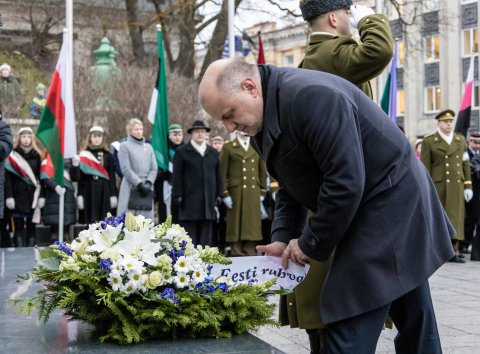 With the marking of the 100th anniversary of the ceasefire, Estonia commemorated those who fell in the War of Independence