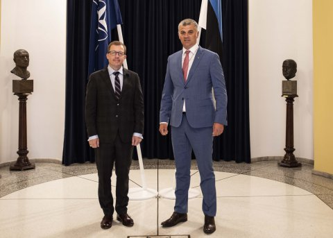 NATO's head of intelligence and security visited Estonia