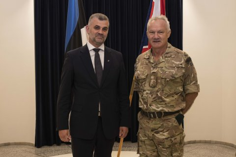 Permanent Secretary Prikk: we are strengthening defence cooperation with the British in the Baltic region
