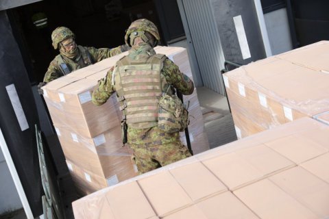 The Estonian Ministry of Defence and the Defence Forces are sending nearly 2000 MREs to Mali.