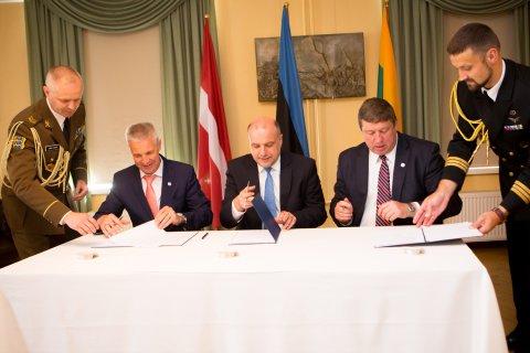 Balti kaitseministrid kinnitasid koostöö väga head seisu