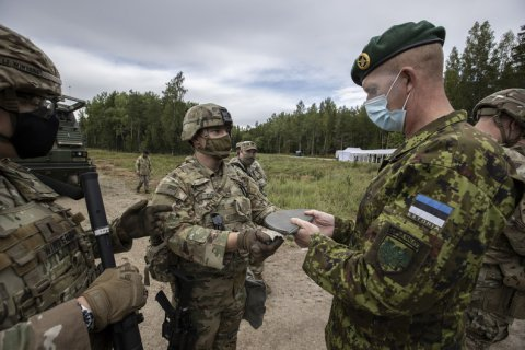 USA allocates 169 million dollars of security assistance to the Baltics through newly created Baltic Security Initiative.